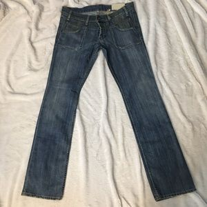 French connection vintage narrow bootcut jeans sz8